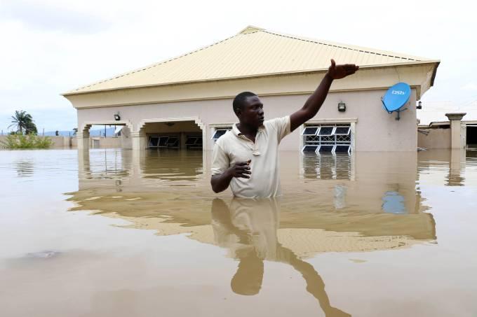 Enchente na Nigéria