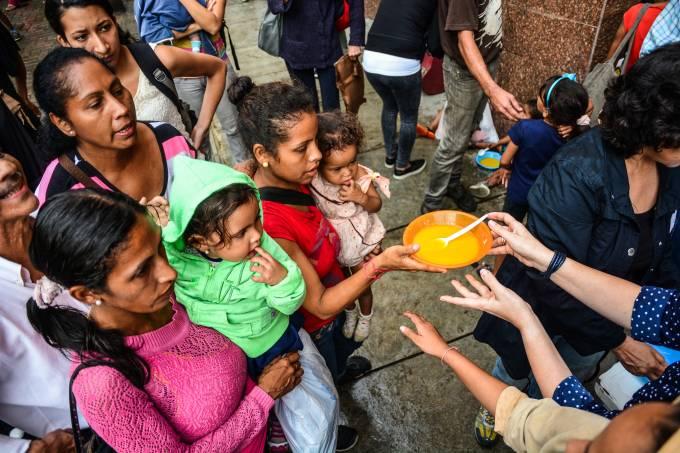 Fome na Venezuela