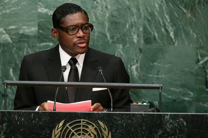Teodoro Nguema Obiang Mangue, vice-presidente da Guiné Equatorial