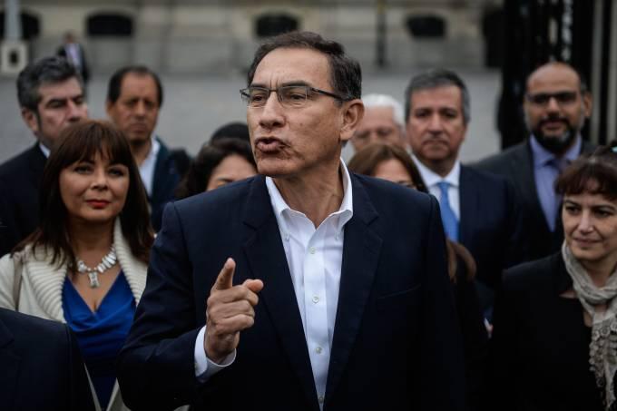 Presidente peruano Martín Vizcarra