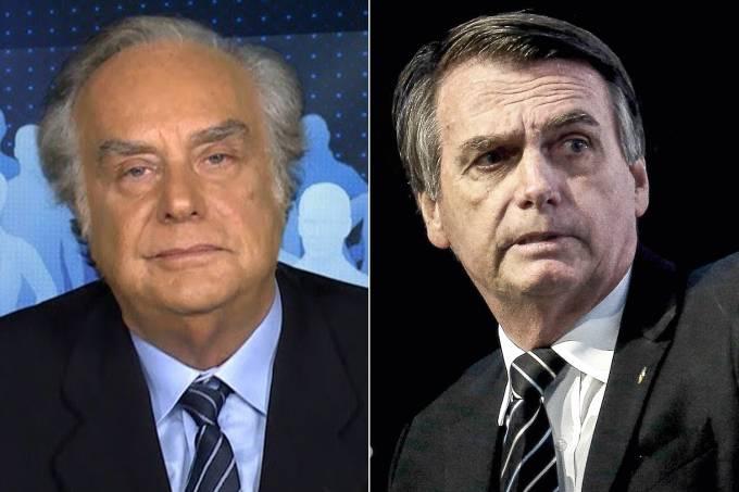 Arnaldo Jabor e Jair Bolsonaro