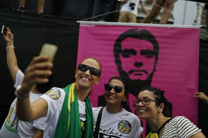 Protesto a favor do Bolsonaro RJ
