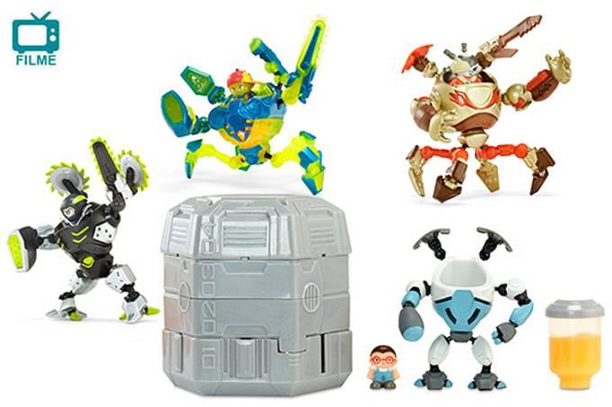 O brinquedo Ready2Robot