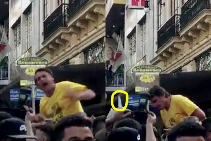 Ataque ao candidato Jair Bolsonaro