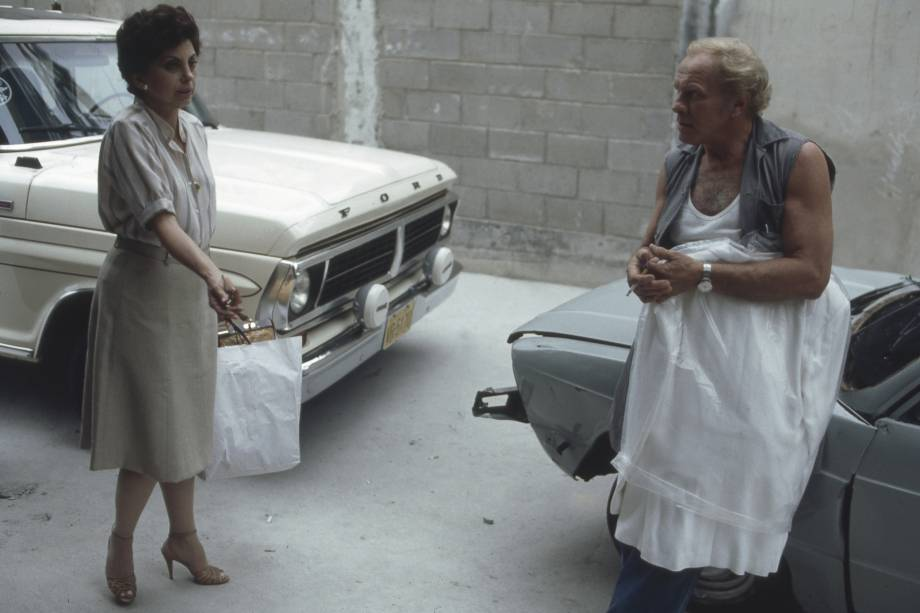 Beatriz Segall e Jardel Filho na novela 'Sol de Verão', em 1982