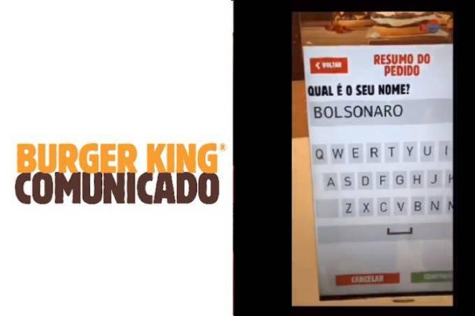 Após críticas a vídeo envolvendo Bolsonaro, Burger King toma providência