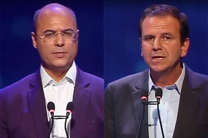 Debate Band RJ – Wilson Witzel e Eduardo Paes