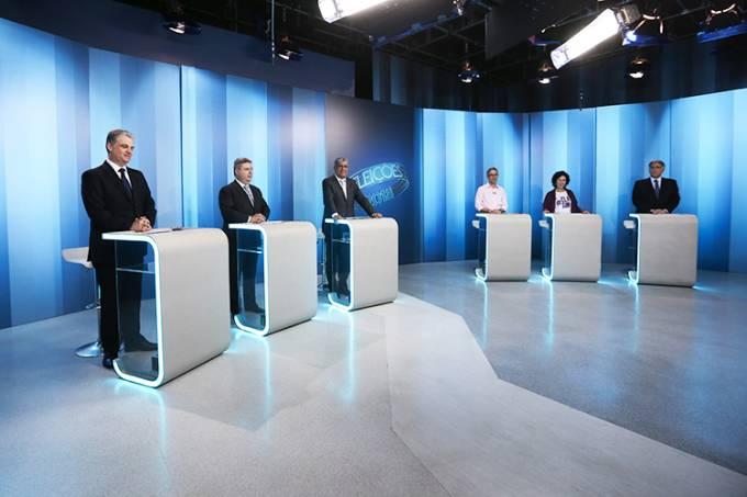 Debate com os candidatos ao governo de Minas Gerais