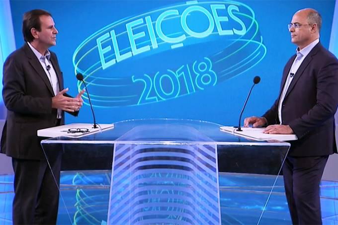 Debate Globo RJ – Eduardo Paes e Wilson Witzel