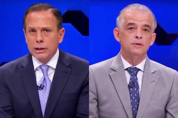 Debate SBT – João Doria e Márcio França