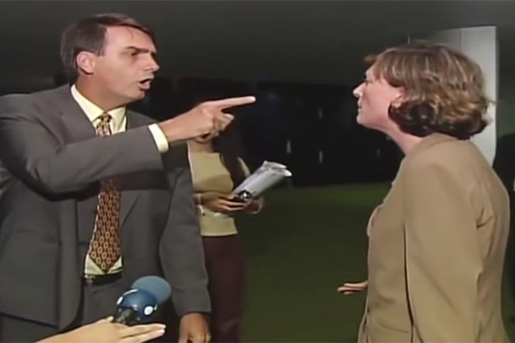 """<span style=""""font-weight:400;"""">Ao longo dos últimos anos, Bolsonaro foi questionado por uma série de declarações sobre mulheres, negros e homossexuais. </span>Em 2003, começou a se desentender com a deputada federal Maria do Rosário (PT-RS) após ela acusá-lo de incentivar a violência sexual mesmo sem saber. Durante um bate-boca, o deputado chamou a colega de """"vagabunda"""" diante das câmeras da RedeTV!."""