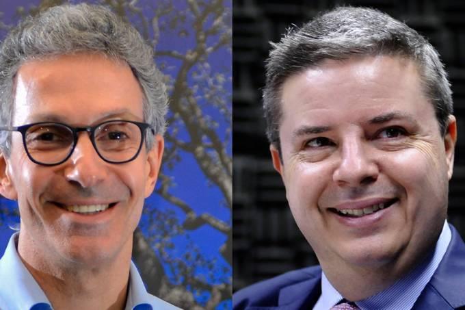 Romeu Zema (NOVO) e Antonio Anastasia (PSDB)