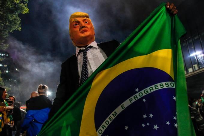 Apoiadores de Jair Bolsonaro
