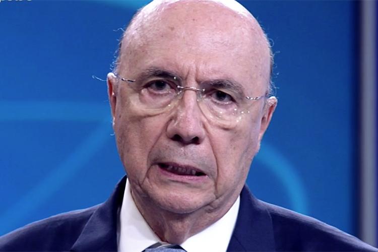 Henrique Meirelles (MDB), candidato à Presidência da República, durante debate entre presidenciáveis na TV Globo - 04/10/2018