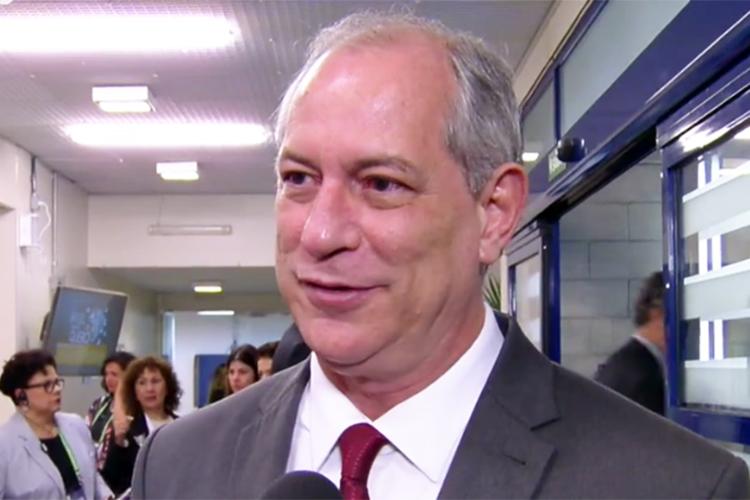 Ciro Gomes (PDT),  candidato à Presidência da República, chega aos estúdios da TV Globo para participar de debate presidencial - 04/10/2018