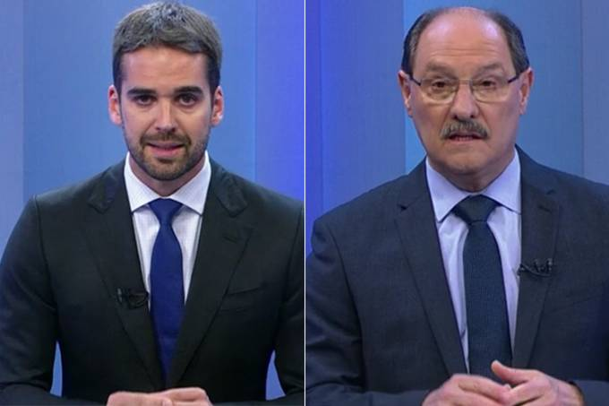 Debate Globo RS – Eduardo Leite e José Ivo Sartori