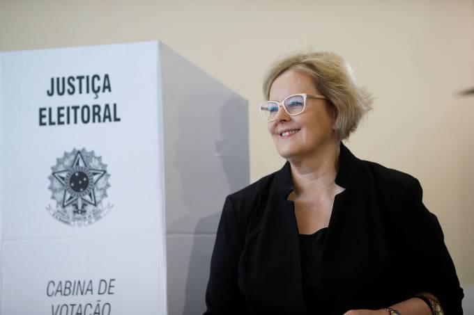 Ministra Rosa Weber vota em Brasília