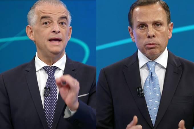 Debate Globo SP – Márcio França e João Doria
