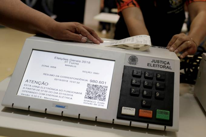 Urna eletrônica – Eleições 2018