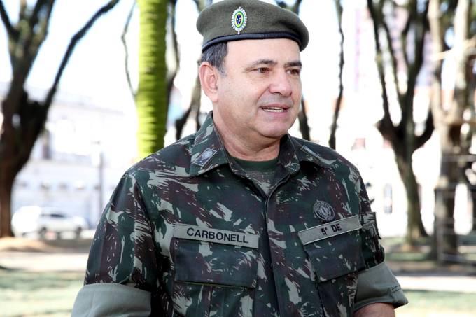o general do exército Luiz Felipe Kraemer Carbonell