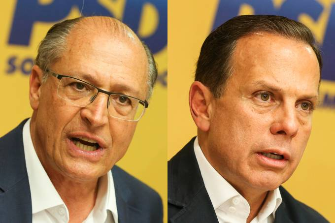 Geraldo Alckmin e João Doria