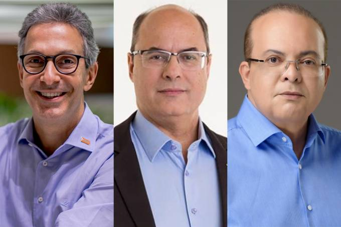 Romeu Zema, Wilson Witzel e Ibaneis Rocha