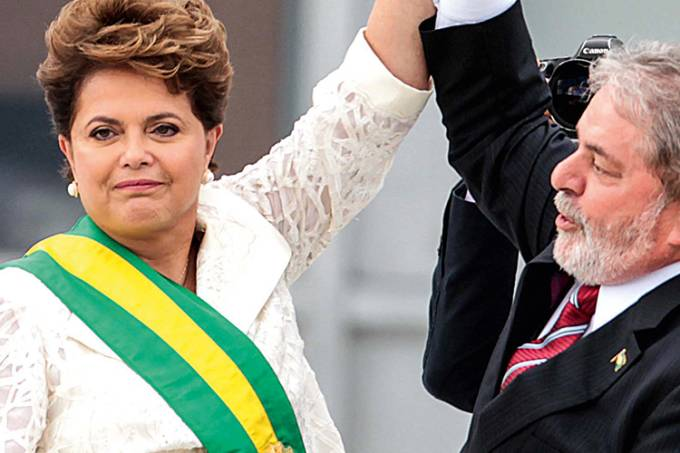 Dilma Rousseff e Lula