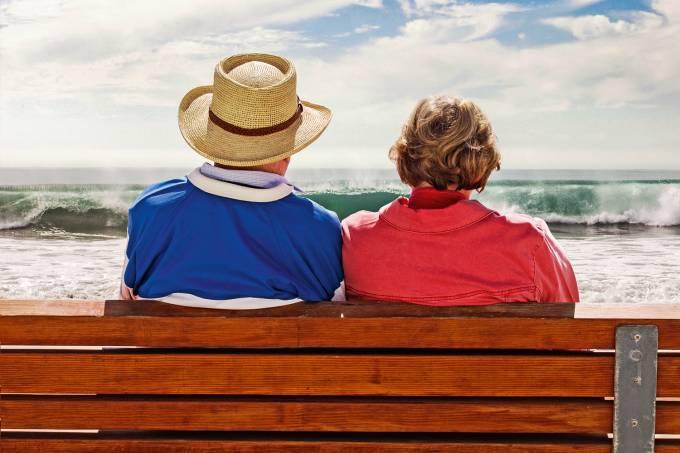 Casal aposentado