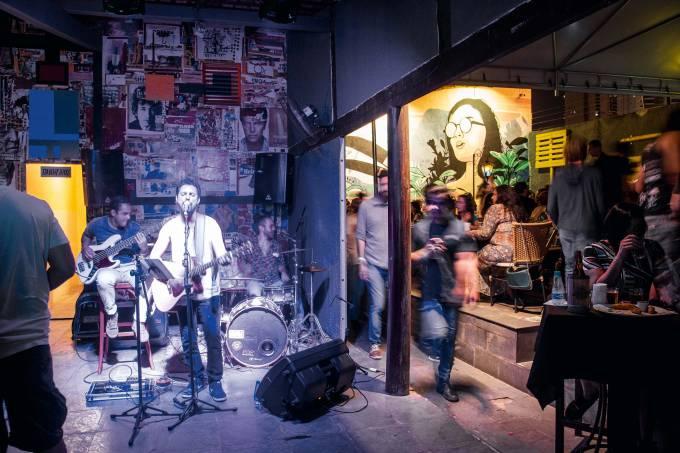 Luiz Porto e banda -mpb, rock e reagge – Lowbrow Lab Arte & Boteco  – Goiania