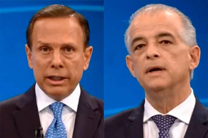 João Doria e Márcio França