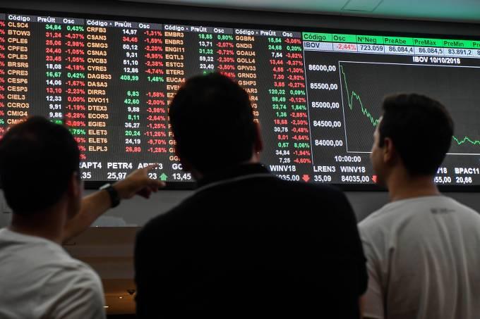 Economia – Bolsa de Valores – Cotação