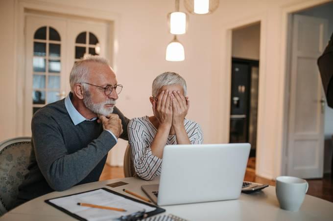Inadimplência entre idosos