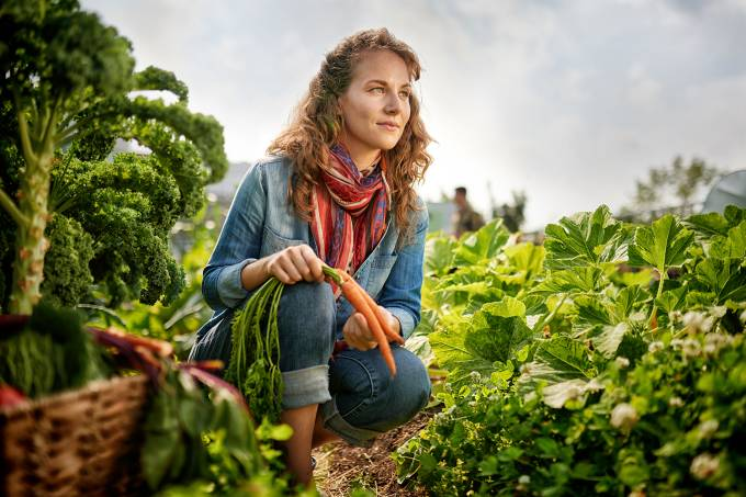Mulher agricultora