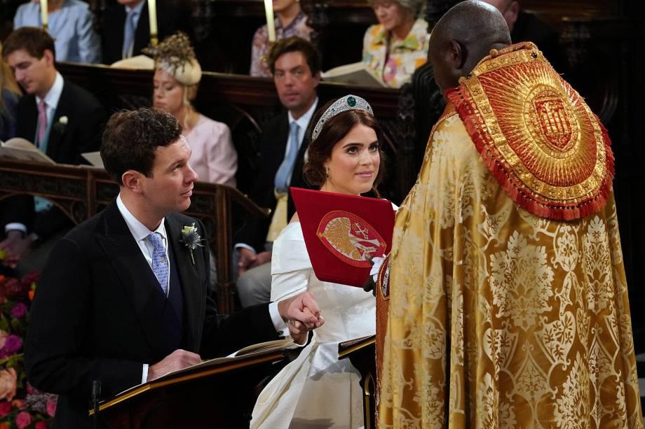 O casamento da princesa Eugenie com Jack Brooksbank na capela de São Jorge em Windsor - 12/10/2018