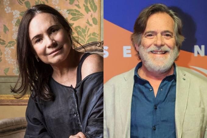 Regina Duarte e José de Abreu