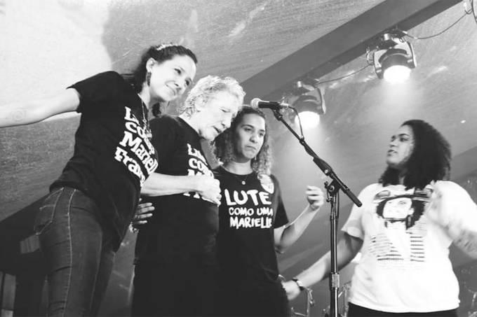 Roger Waters homenageia Marielle Franco