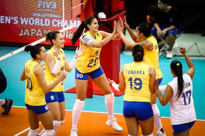 Vôlei feminino – Brasil vs Holanda