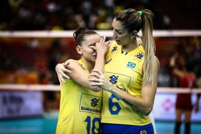 Mundial feminino de vôlei- Brasil vs Japão