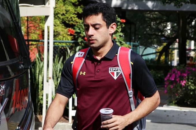 O jogador Daniel, ex-São Paulo