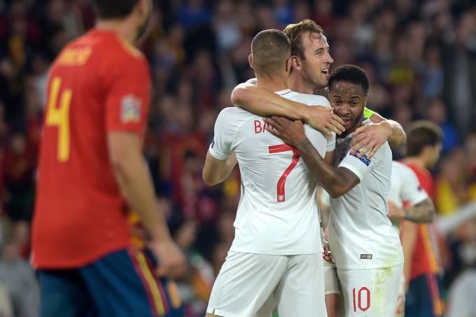 Inglaterra x Espanha