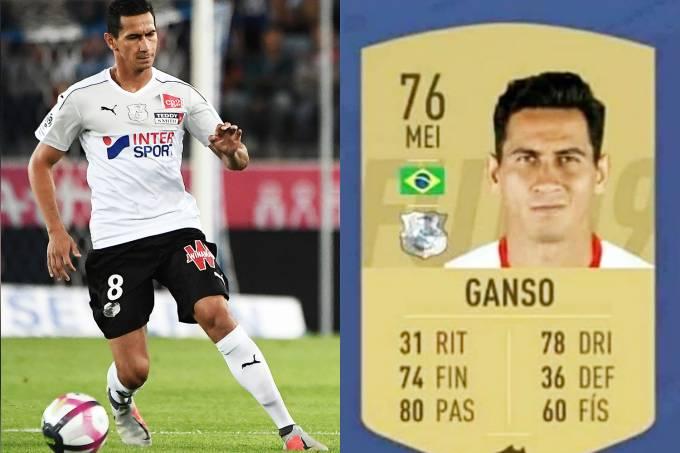 Ficha de Paulo Henrique Ganso no FIFA 19