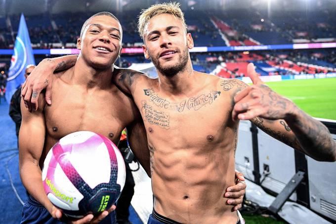 Mbappé e Neymar