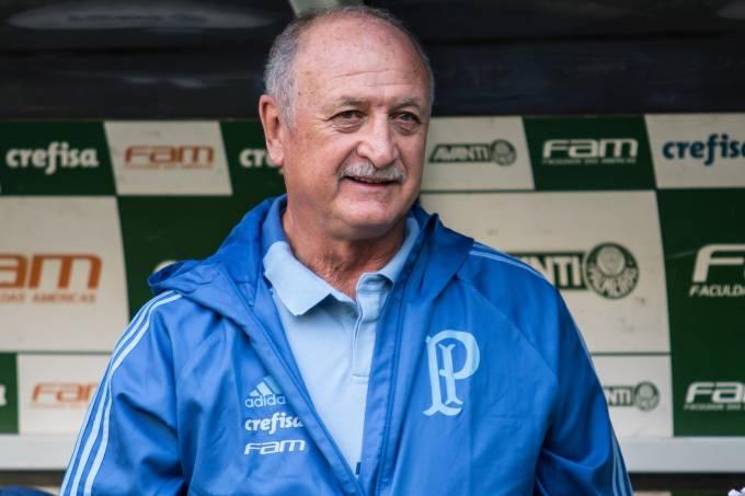 O técnico Luiz Felipe Scolari (Felipão)