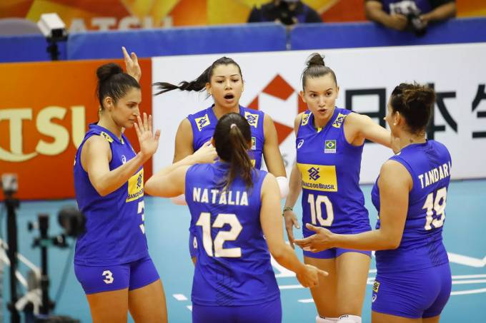 Vôlei feminino: Brasil vs Quênia