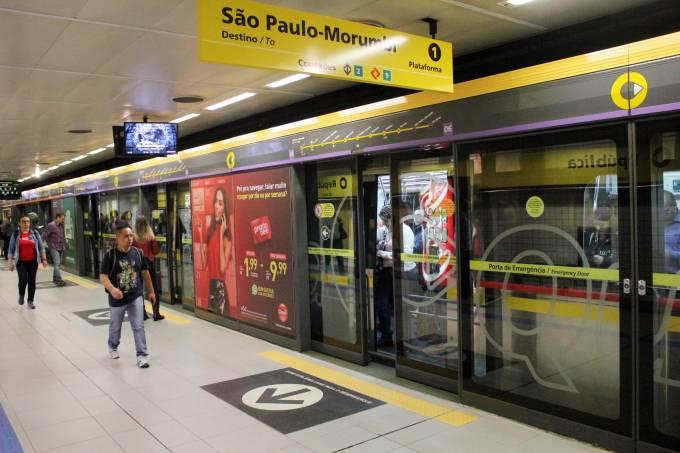 Estação São Paulo-Morumbi do Metrô