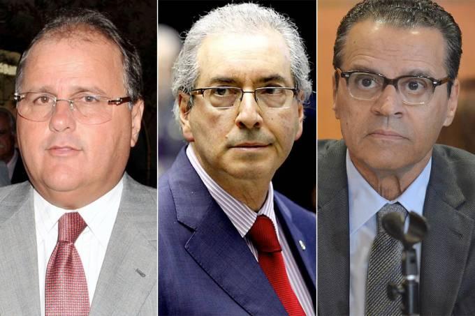 Geddel Vieira Lima, Eduardo Cunha e Henrique Eduardo Alves