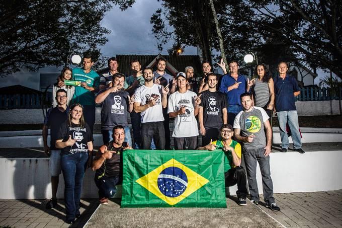 Apoiadores do Bolsonaro