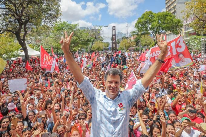 Fernando Haddad em Fortaleza (CE)