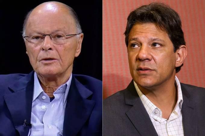 Edir Macedo e Fernando Haddad