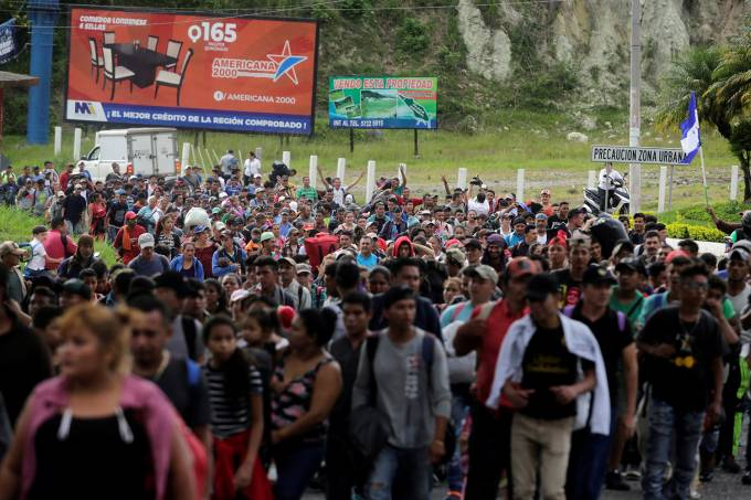 Caravana de imigrantes